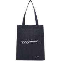 A.P.C. Indigo Jjjjound Edition Denim Tote