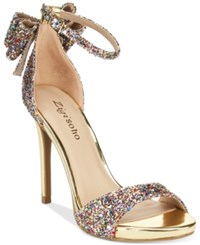 Ziginy Zigi Soho Remi Two Piece Dress Sandals Women's Shoes Glitter Multi