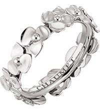 Chaumet Hortensia Floral 18Ct White Gold Ring