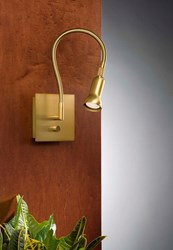 Holtkoetter 6265 Low Voltage Swing Arm Wall Sconce Light Brown