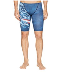 Tyr Live Free Jammer Red White Blue Swimwear Multi