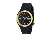 Neff Stripe Watch Black Gold Watches