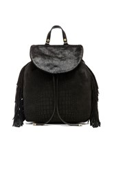 Sam Edelman Fringe Backpack Black