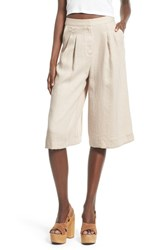 Women's Astr 'Ashley' Pleat Culottes