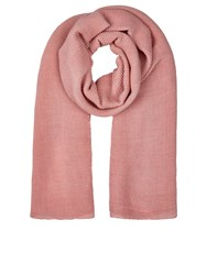 Accessorize Lola Ribbed Scarf Light Pink