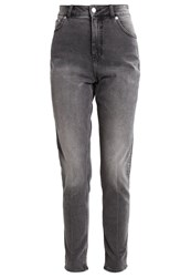 Cheap Monday Donna Slim Fit Jeans Bold Black Grey Denim