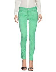 Entre Amis Casual Pants Green