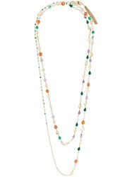 Rosantica Beaded Necklace Stone