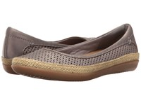 Clarks Danelly Adira Silver Leather Women's Shoes
