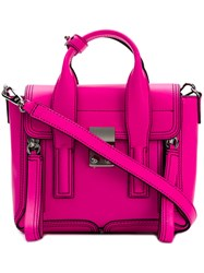3.1 Phillip Lim Pashli Mini Satchel Pink And Purple