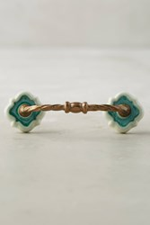 Anthropologie Tangier Ceramic Handle Blue
