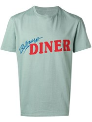 Bellerose Logo T Shirt Green