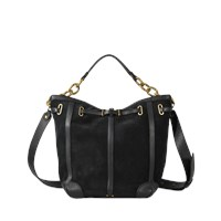 Jerome Dreyfuss Tanguy Bag In Suede