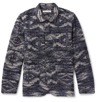 Outerknown Pacifica Jacquard Chore Jacket Indigo