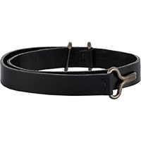 Giles And Brother Men's Visor Cuff Bracelet Black Blue Black Blue