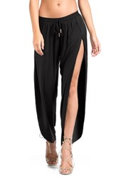 Robin Piccone Women's Side Split Cover Up Pants