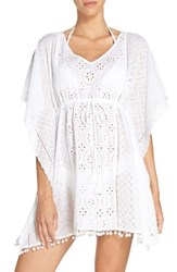 Tommy Bahama Women's Eyelet Cover Up Tunic