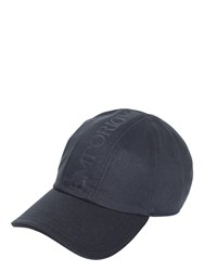 Emporio Armani Cotton Drill Logo Baseball Hat
