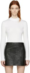 Courreges Ivory Classic Turtleneck