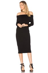 Rachel Pally Luxe Rib Welsy Dress Black