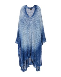 Avant Toi Capes And Ponchos Bright Blue