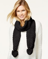 Rampage Knit Scarf Black