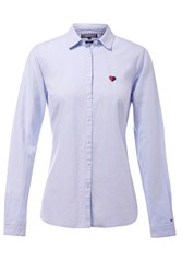 Tommy Hilfiger Aurora Oxford Shirt Blue