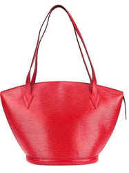 Louis Vuitton Vintage 'Saint Jacques' Tote Red