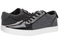 Guess Torence Charcoal Grey Black Men's Lace Up Casual Shoes Gray