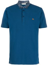 Etro Short Sleeved Polo Shirt 60