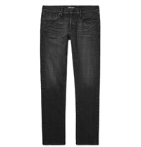 Tom Ford Slim Fit Stretch Selvedge Denim Jeans Black