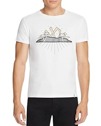 Marc Jacobs Hollywood Palms Graphic Tee Bright White