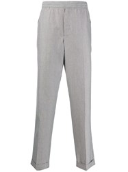 Golden Goose Striped Straight Leg Trousers 60