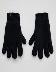 Selected Homme Winter Gloves Black