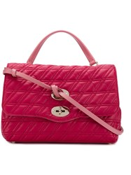 Zanellato Quilted Shoulder Bag Pink
