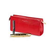 Aspinal Of London Cosmetic Case Berry