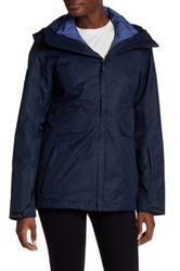 The North Face Hooded Zip Jacket Blue