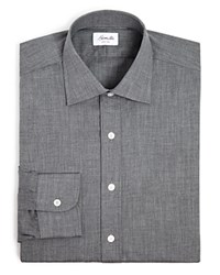 Hamilton Herringbone Solid Classic Fit Dress Shirt 100 Bloomingdale's Exclusive