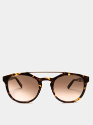 Monc Whiskey Tortoise Gradient Kreuzberg Sunglasses Brown