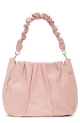 Louise Et Cie Aisa Leather Hobo Pink Foundation