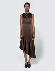 Veda Crown Dress Dark Chocolate