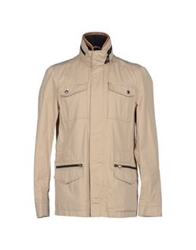 Hogan Jackets Beige