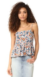 Current Elliott The Strappy Tank Dusty Bowl Floral