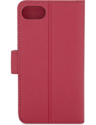 Michael Michael Kors Folio Leather Iphone 7 Case Ultra Pink