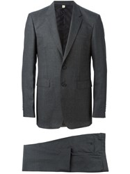 Burberry Two Piece Suit Grey