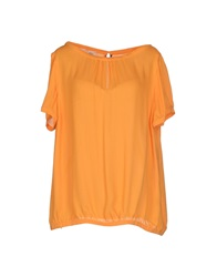 Attic And Barn Attic And Barn Blouses Orange