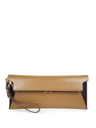 Marni Trunk Envelope Leather Clutch