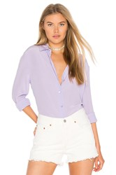 Equipment Essential Button Up Lavender