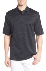 Bugatchi Men's Two Tone Polo Graphite
