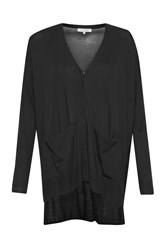 Great Plains Manor Mix Pocket Detail Cardigan Black